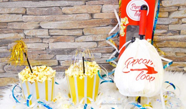 Popcorn wie im Kino mit dem Popcornloop🍿🍫🧀📽🎞