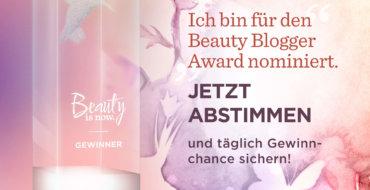 Beauty Blogger Award 2018
