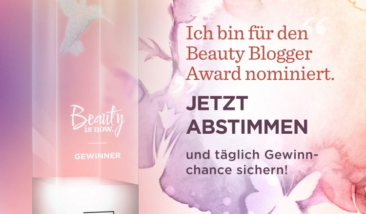 Beauty Blogger Award 2018